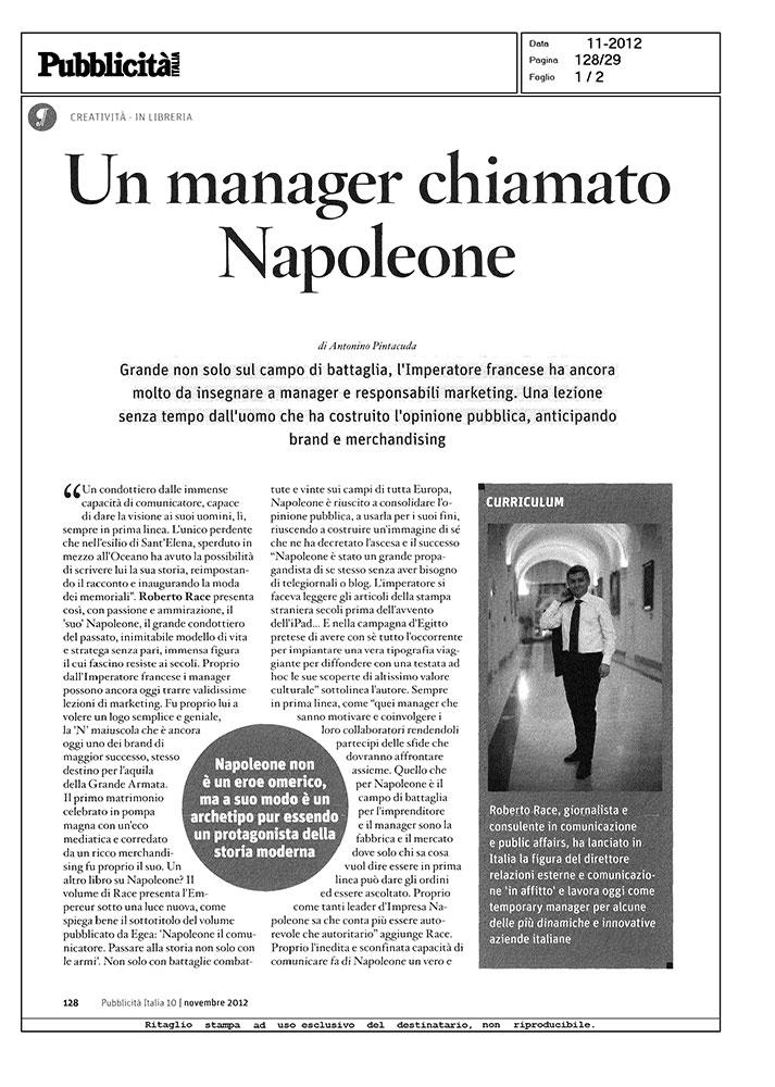 Un Manager chiamato Napoleone