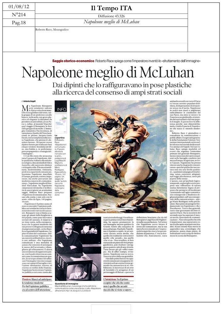 Napoleone meglio di McLuhan