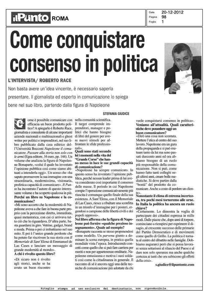 Come conquistare consenso in politica
