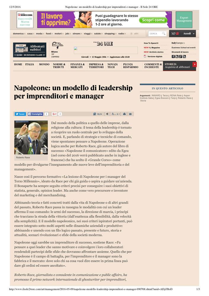 Napoleone: un modello di leadership per imprenditori e manager