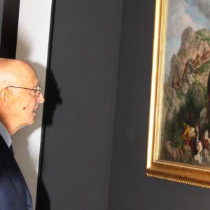Il Presidente Napolitano visita la mostra